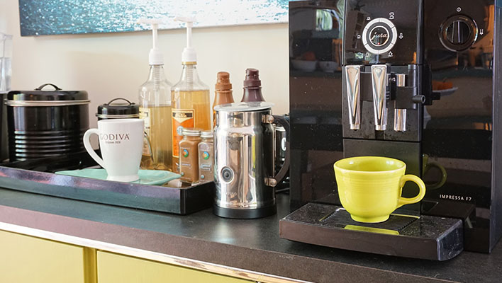 Creating the ultimate coffee bar (oh, and with wine too)