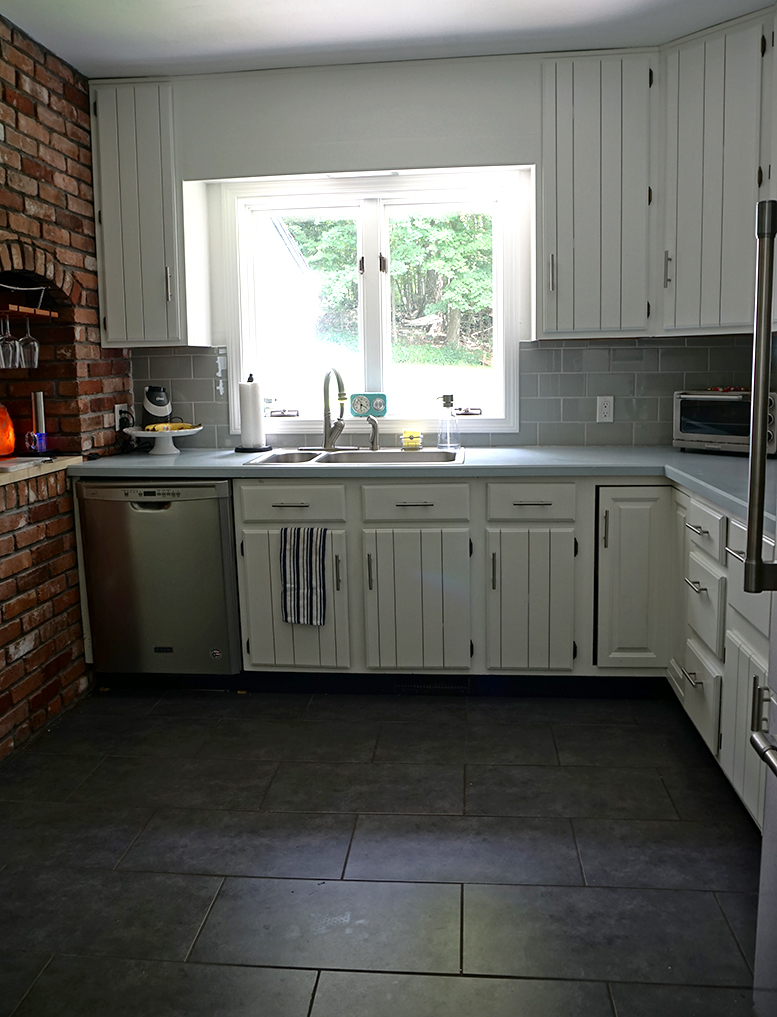 kitchen renovation - after shot