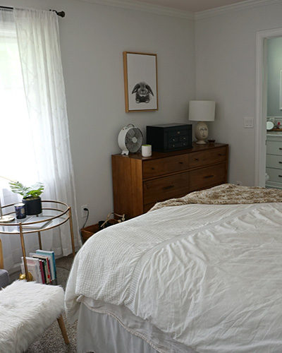 A Peaceful Bedroom with a Minimalist Vibe