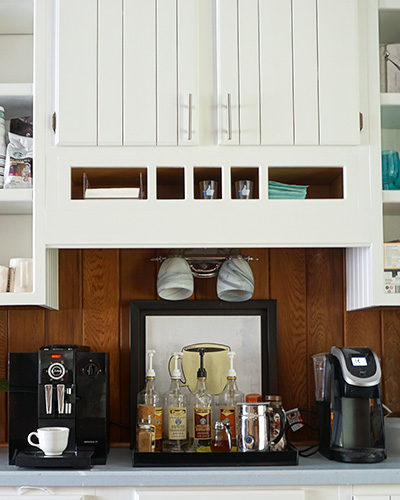 How to Build a Coffee Bar at Home and Drink Coffee in your Pajamas