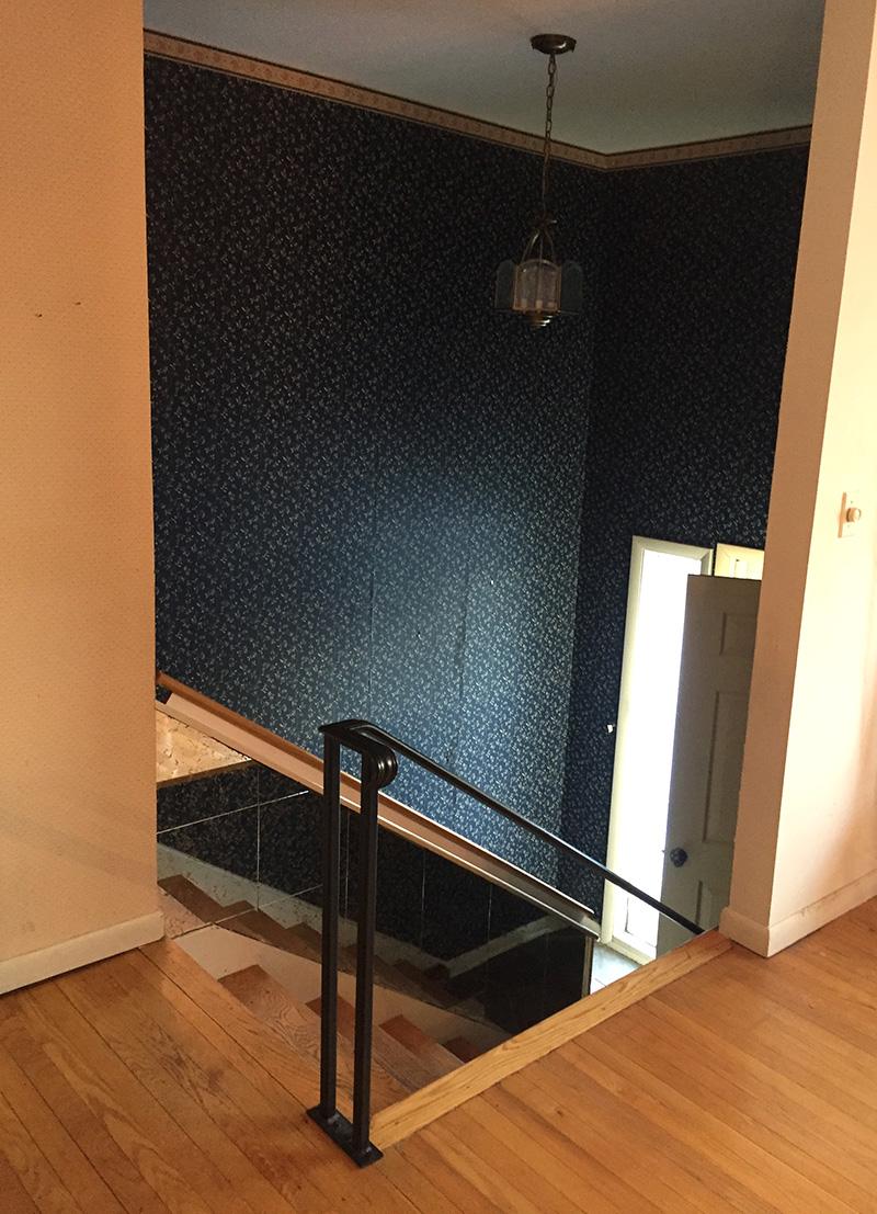 small foyer renovation inspiration