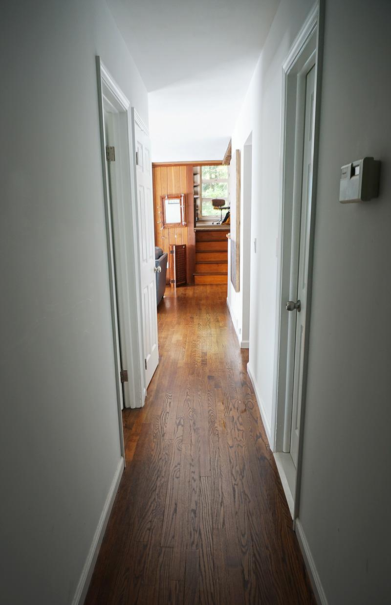 hallway after renovation